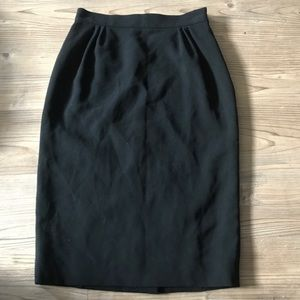 Moschino Cheap and Chic Black Pencil Career Skirt